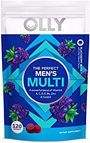 OLLY Women's Multivitamin Gummy, Vitamins A, D, C, E, Biotin, Folic Acid, Chewable Supplement, Berry Flavo