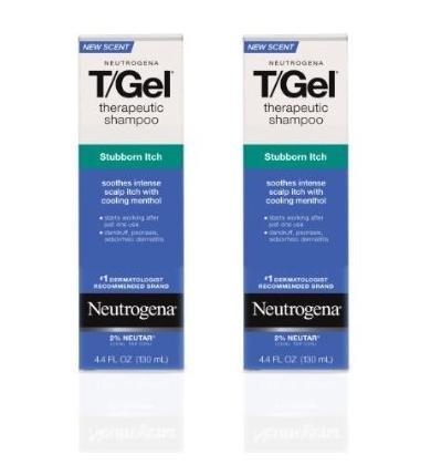 Neutrogena T-Gel Shampoo, Stubborn Itch Control, 4.4 Fluid Ounce (Pack of 2) (T-gel Control Neutrogena Shampoo Daily)