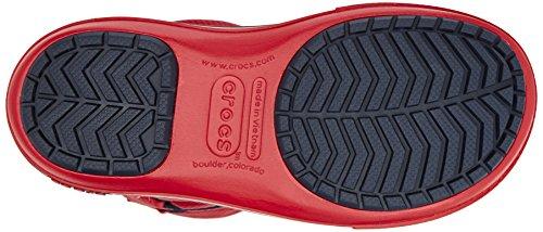 Crocs Cband Ii.5 Cinch Boot W - Botas Con Forro para hombre Rosso (Pepper/Navy)
