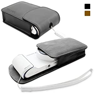 Snugg Galaxy Smart Camera Leather Case with Premium Nubuck Fibre Interior for Samsung Galaxy Smart Camera WiFi 3G