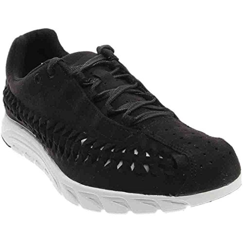 NIKE Mens Mayfly Woven Casual Shoe Black/Summit White