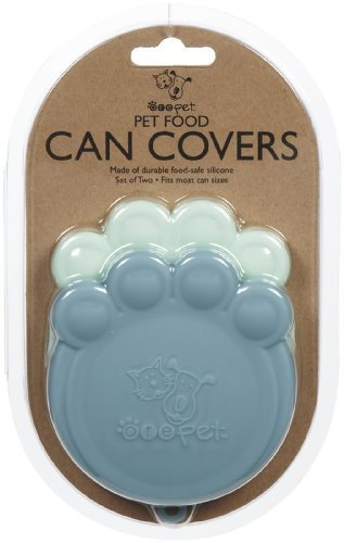 ORE Pet Pet Can Cover Lt bluee & bluee 2 count by ORE Pet
