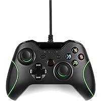 USB Wired Game Controller Xbox One/Slim Gamepad Joystick Joypad PC Win / 7/8 / 10 (Black)