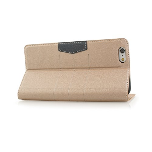New Style Apple iphone 5 Case cover, Apple iPhone 5 Gold Designer Style Wallet Case Cover