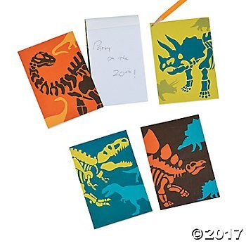 Dinosaur Fossil Party Favor Notepads