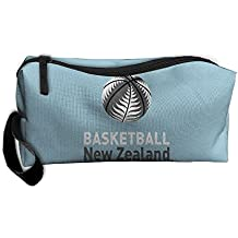 fan products of Coin Pouch Basketball New Zealand Pen Holder Clutch Wristlet Wallets Purse Portable Storage Case Cosmetic Bags Zipper