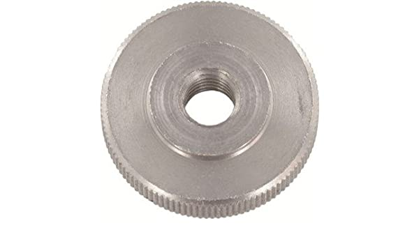 100pcs Ships Free in USA by Aspen Fasteners DIN 467 M2 Knurled Thumb Nuts Thin Type AISI 303 Stainless Steel ASSP046722