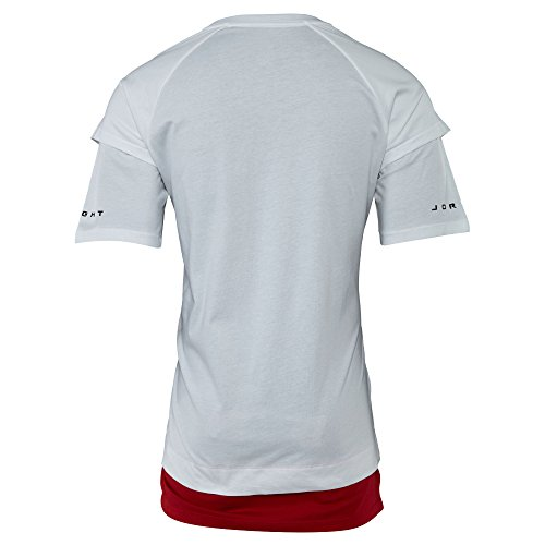 Jordan Retro 13 Double Layer T-Shirt White