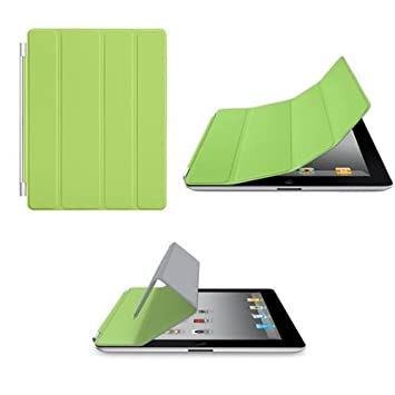 56ceafbeaf Magnetic Protective Flip Smart Cover Skin Case Stand for iPad 2 3 4 -  Green: Amazon.co.uk: Computers & Accessories