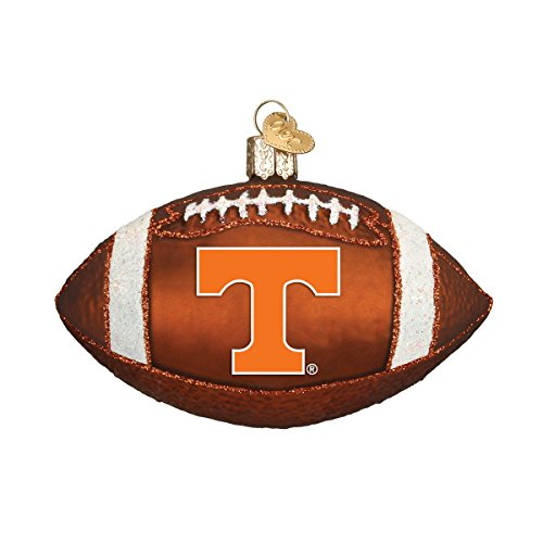 Old World Christmas University of Tennessee Football Glass Blown Ornament