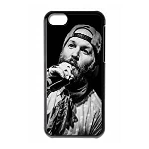 iPhone 5c Cell Phone Case Black Fred Durst Limp Bizkit Music Rapcore Black White Ihust