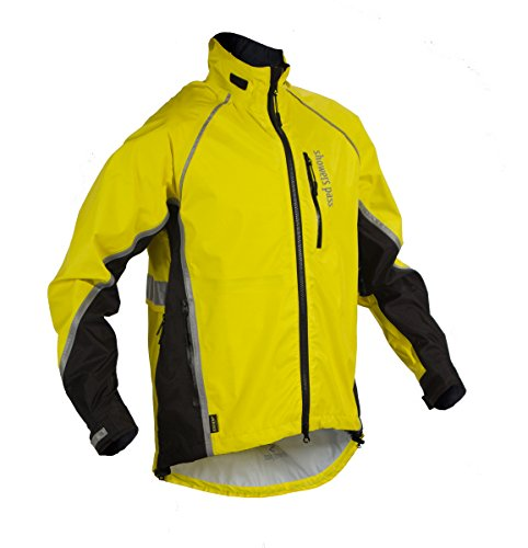Showers Pass Women's Waterproof Transit Jacket, Yelling Yellow, Large