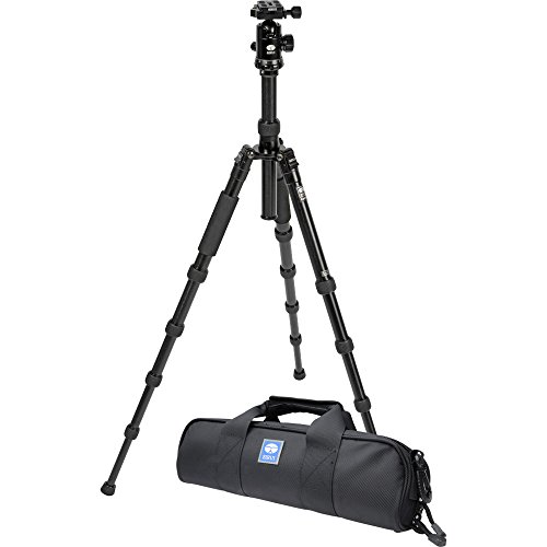 Sirui T-2005P 63.8'' Aluminum Alloy Tripod with E-20 Ball Head & Case (Black) by Sirui