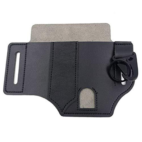 BULABULA Multitool PU Leather Sheath Pocket Organiser Opbergriem Taille Bag voor Camping