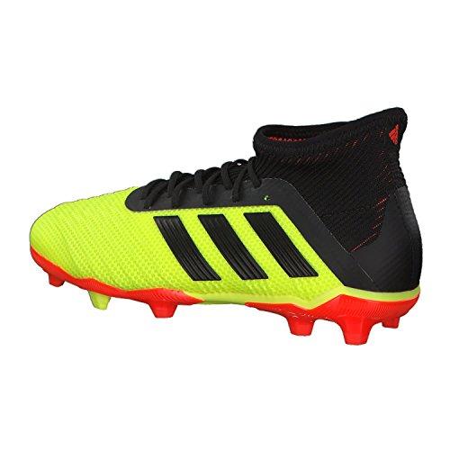 De 1 J Adidas Football Fg rojsol Predator 18 amasol Chaussures Jaune 000 Adulte negbás Mixte EIIqYZw