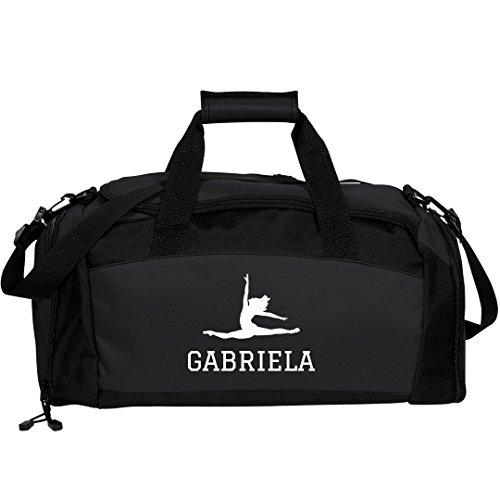 Gabriela Dance Bag Gift: Port & Company Gym Duffel Bag by FUNNYSHIRTS.ORG