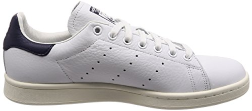 Bianco ftwbla top Smith Scarpe 000 Unisex Low tinnob Stan ftwbla Adulto Adidas zTqFw0Oq