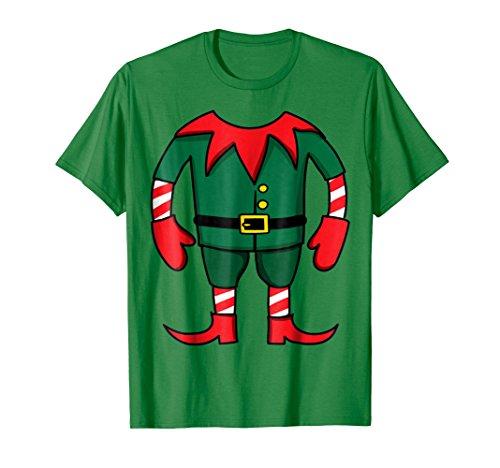 Mens Funny Elf Christmas Group Costume Idea T-Shirt