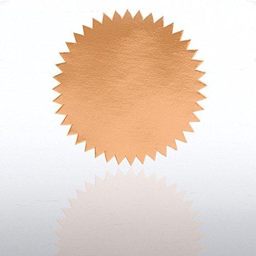 - Blank Certificate Seal - Bronze