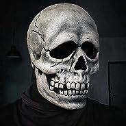 Full Head Skull Mask/Helmet with Movable Jaw,Skull Mask,Call of Duty Mask