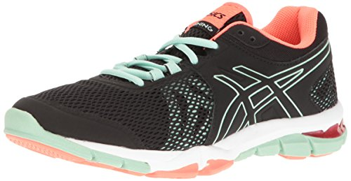 ASICS Women's Gel-Craze TR 4 Cross-Trainer Shoe, Black/Onyx/Bay, 5 M US