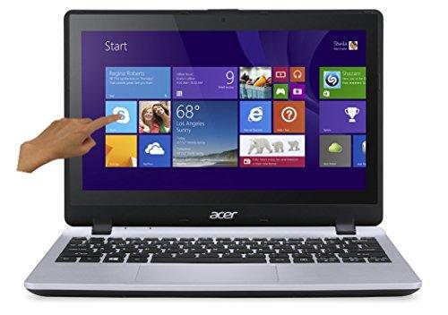 Acer Aspire V3-112P-C2V5 PC Portable Tactile 116 Gris (Intel Celeron 4 Go de RAM Disque dur 500 Go Mise  jour Windows 10 gratuite)