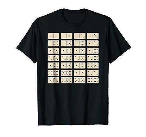 (Domino Set T-Shirt-Slapping Bones Dominoes TShirt)