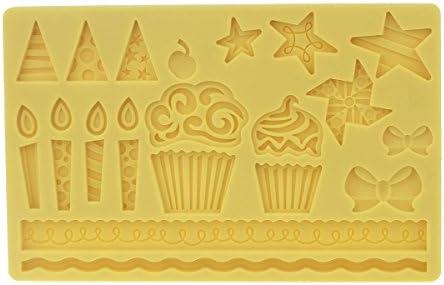 Generic molde de silicona para Chocolate, Gelatina Y Candy etc ...
