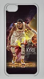 Kyrie Irving Cleveland Cavaliers #2 NBA Sports Custom PC Transparent Case for iPhone 5C by icasepersonalized
