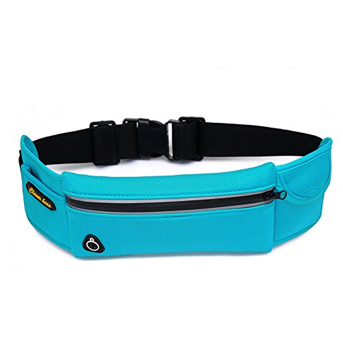 Price comparison product image DuShow Running Belt Waist Pack/Small Running Waist Bags/running pouch Phone belt/4 Colors (Blue)