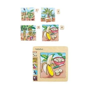 Beleduc Layer Puzzle - Banana