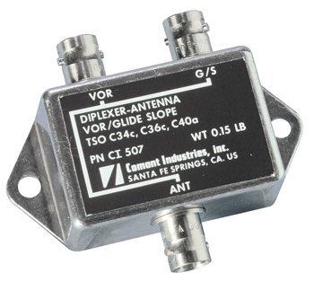 Comant / Cobham Ci-507 1 Vor/1 G/S Diplexer