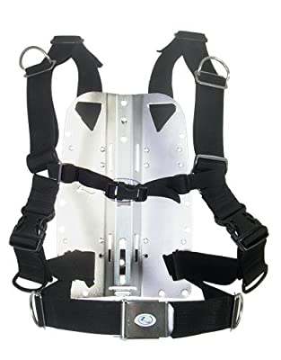 Zeagle Stainless Steel Back Plate with Deluxe Harness