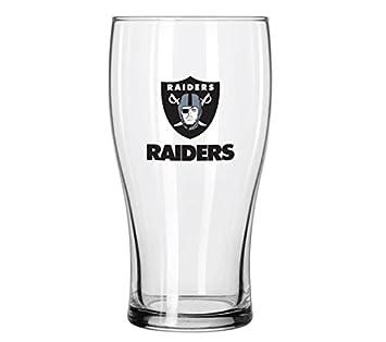 Oakland Raiders Square Shot Glass Great American 8900674999 2 oz