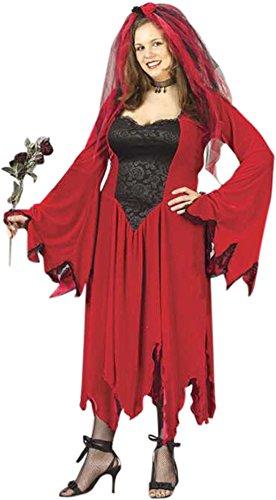 Plus Size Devil Bride Costume Size: Women's Plus
