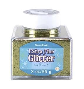 Sulyn 2oz.  Glitter Stacker Jar - 24Karat