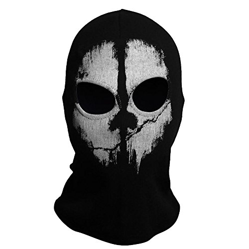 AStorePlus Skull Balaclavas Ghost Face Mask Skiiing Warmer Mask Men Beanie Cap Airsoft Paintball Tactical Game Mask Motorcycle Mask, Style 8