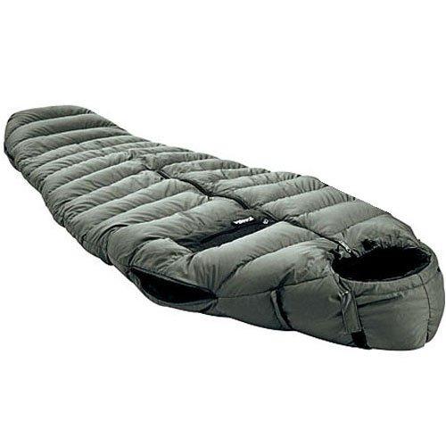 TAIGA SleepWalker 700+ Fillpower Goosedown Sleeping Bag Jacket (-4°C/24.8°F), Including Stuffsack, German Designed, MADE IN CANADA, Medium (Girth: 60″, fits 5'9″), Outdoor Stuffs