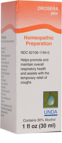 Oral Assist (UNDA - Drosera Plex - Homeopathic Remedy Formulated to Assist With Temporary Relief of Coughing† - 1 fl oz (30 ml))