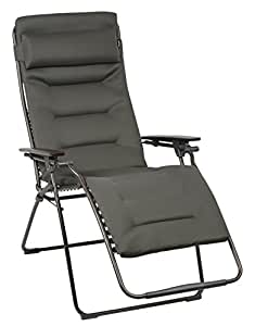 lafuma futura xl air comfort padded zero gravity recliner ergonomic outdoor. Black Bedroom Furniture Sets. Home Design Ideas