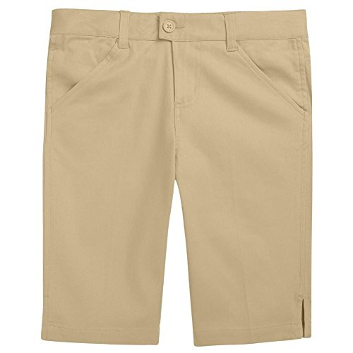 French Toast Bermuda Short Girls Khaki 14