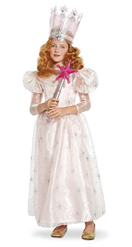 Glinda Halloween Costume Wicked (Wizard of Oz Deluxe Glinda The Good Witch Costume, Large (75th Anniversary Edition))