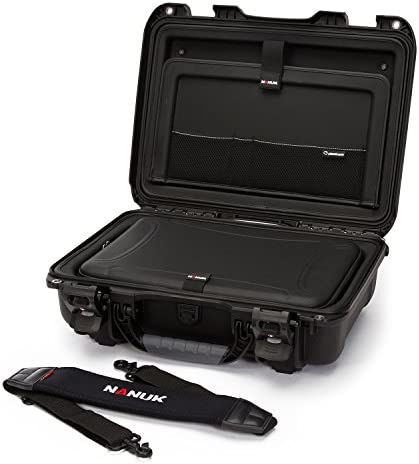 Nanuk 923 Hard Camera Case with Laptop Insert Kit, Black (923-LK01)