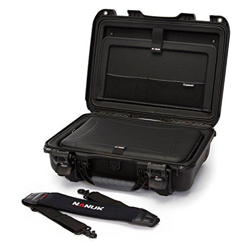 Nanuk 923 Waterproof Hard Case with Laptop Insert Kit - Blac