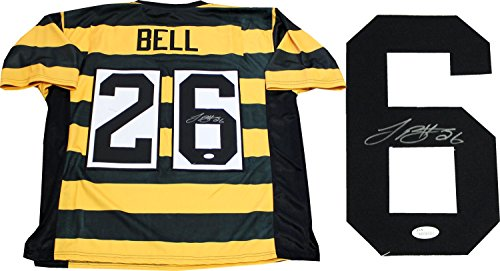 Leveon Bell Autographed Pittsburgh Steelers Throwback Jersey (JSA)