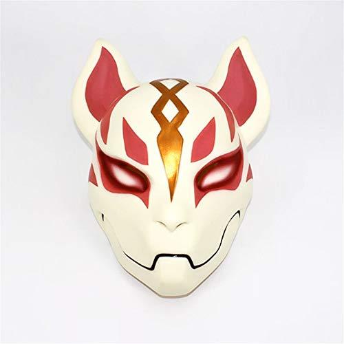 TTXST Halloween Mask Resin Mask Fox Halloween Mask Horror COS Dress Up Animal Vibrating Headgear Mask Costume Fancy Dress Party Prop -