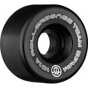 ROLLERBONES LOGO Wheel 8pk 101a (Black, 57mm)