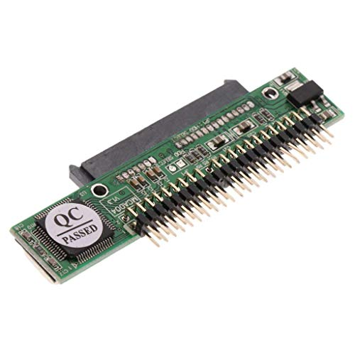 nouler juler Ordenador portátil Sata 7 + 15 de 2,5 Pulgadas, 22 Pines, Hembra a IDE 44P Tarjeta convertidora Masculina
