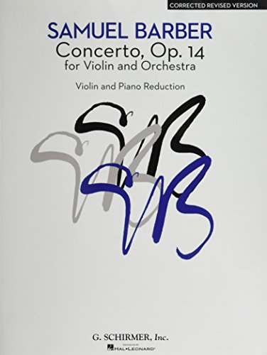 Concerto - Corrected Revised Version: Violin and Piano Reduction (Violin Music Sheet Concerto)