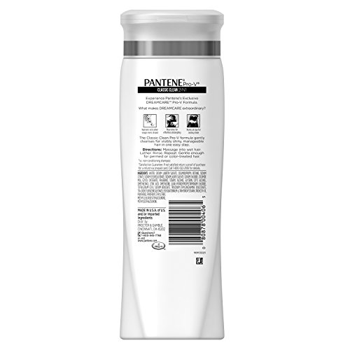 080878004065 - Pantene Pro-V 2 in 1 Shampoo & Conditioner, Classic Care, 12.6 Ounce carousel main 2